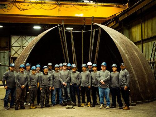 Conrex Steel Ltd Team Photo