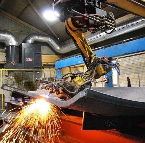 Robotic Arm at Conrex Steel