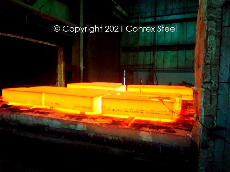Stressed Relieved Steel Blocks