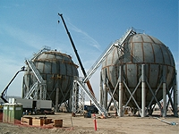 Conrex Steel Liquid Storage Spheres